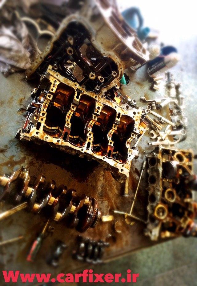 تعمیرات موتور خودروی کیا